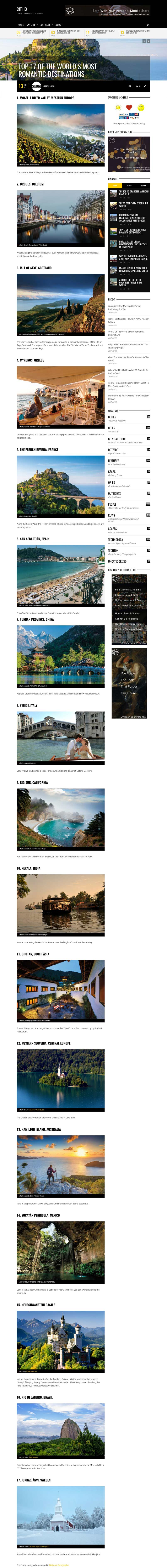 Top-17-Of-the-worlds-most-romantic-destination