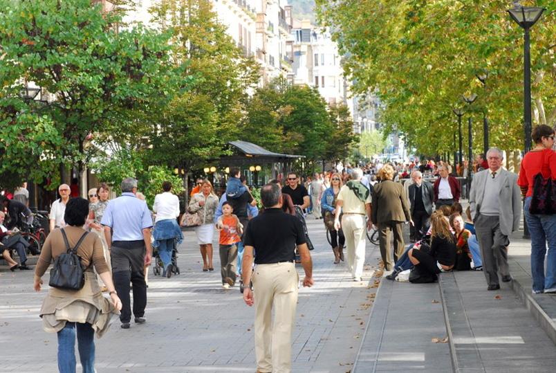 Un estudio detallado del flujo de personas en la ciudad revela que ...